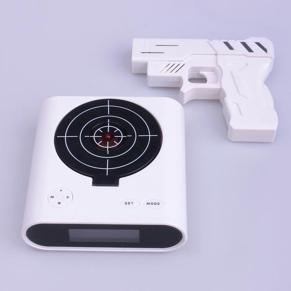 Aj-86 portable wireless bluetooth mini high-def sound speaker with bluetooth, fm radio and 2 alarm clock functions