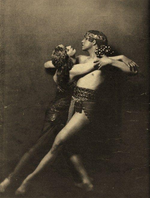 Рут Сен Дени и Тед Шон. Кэрол Леонетти. начале 1900 х