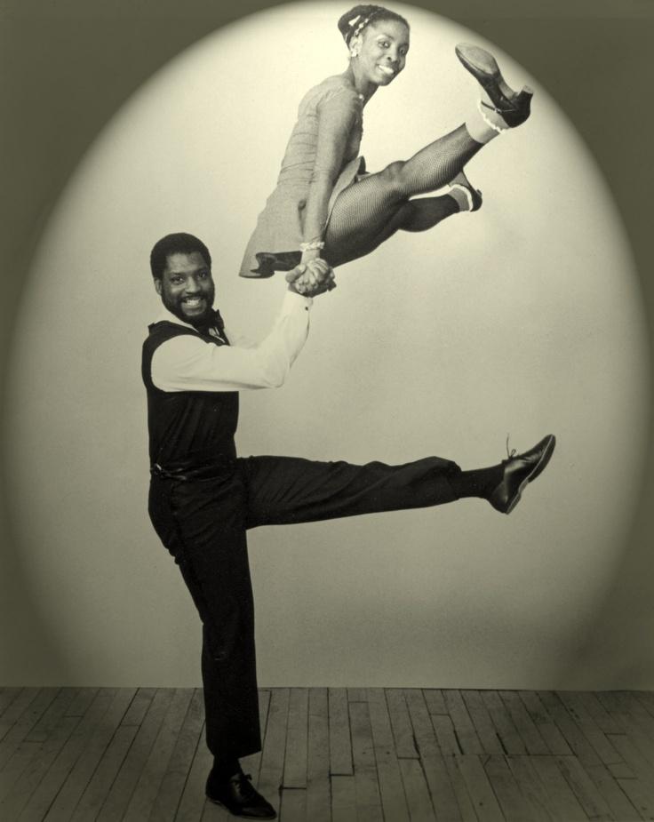 Свинг танцоров  Уайлдером и Клайд Amaniyea Payne. Фотограф Ларри Шульц.