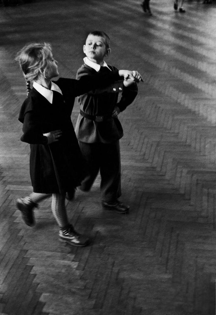 урок танца, Москва, 1958 фото Говарда