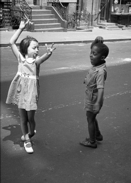Хелен Левитт NY 1940