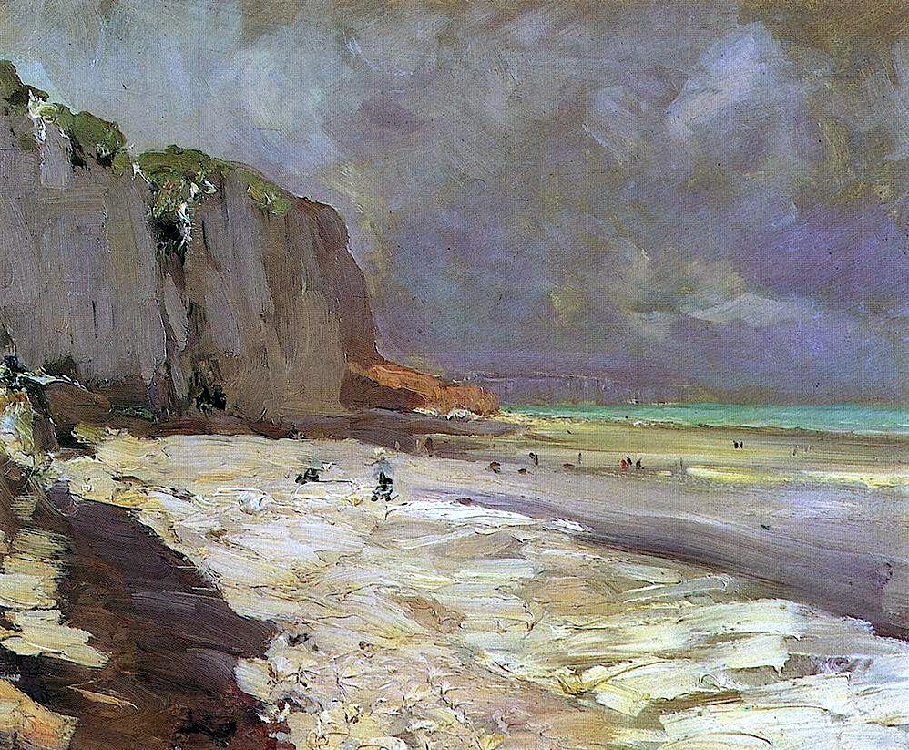 Пляж в Дьепп, 1890