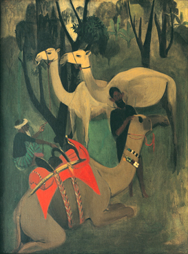 Camels,_1941,_by_Amrita_Sher-Gil