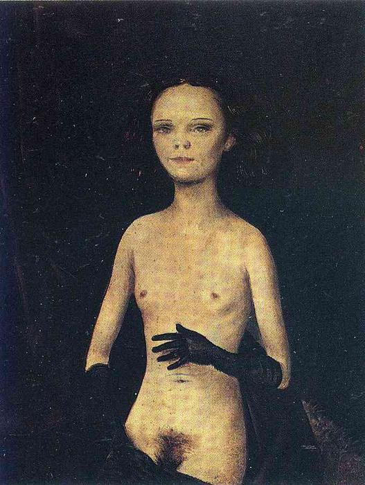 Otto-Dix-Nude-Girl-with-Gloves