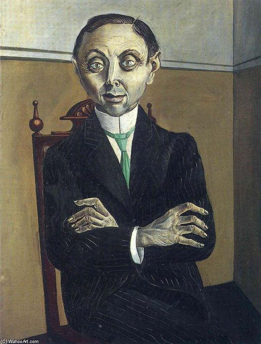 Otto-Dix-Portrait-of-Paul-F.-Schmidt