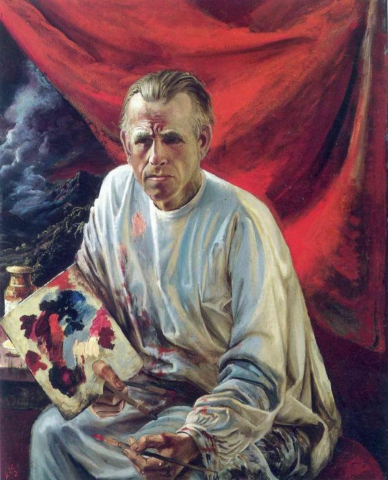 Otto-Dix-Self-Portrait-3-