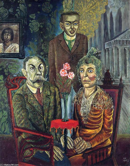 Otto-Dix-The-Family-of-the-Painter-Adalbert-Trillhaase