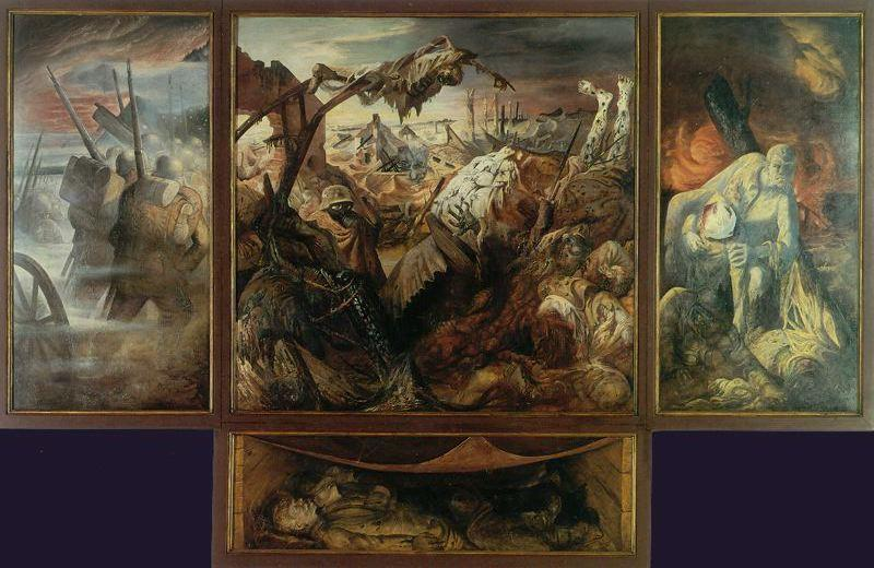 Otto-Dix-Triptychon-Der-Krieg-War-Triptych-