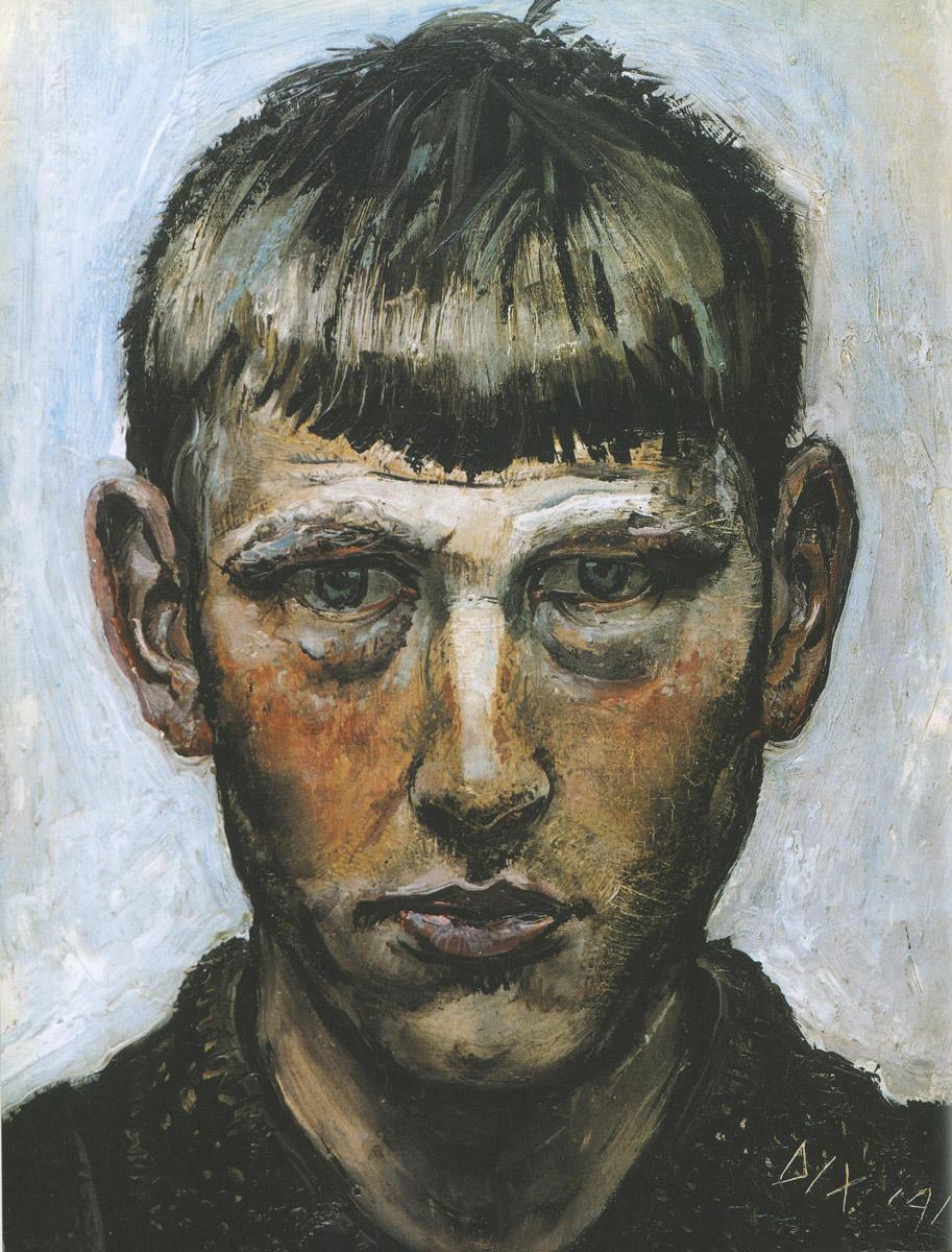 OttoDix_Self-portrait_1913