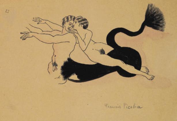 Francis-Picabia-Le-couple