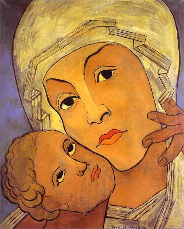 Francis-Picabia-Virgin-with-Infant