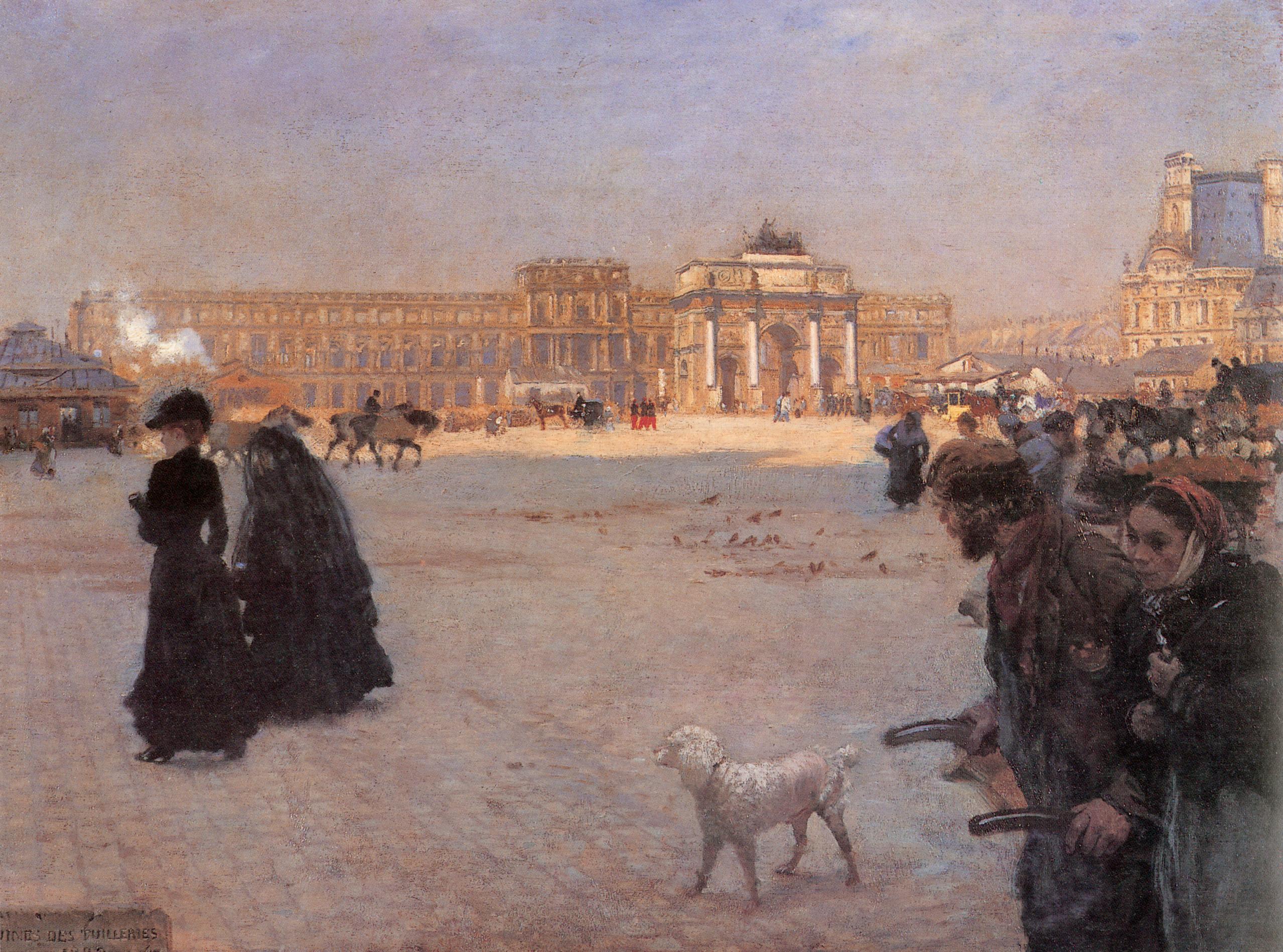 la-place-du-carrousel-paris-the-ruins-of-the-tuileries-1882