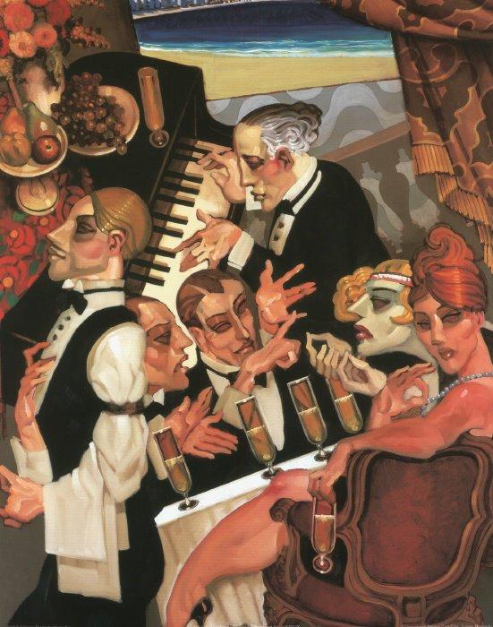 Juarez Machado 1941 Brasilian painter - Tutt'Art@ (31)