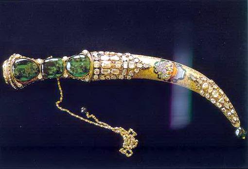 topkapi-emerald-dagger-museum-palace-nadir-shah