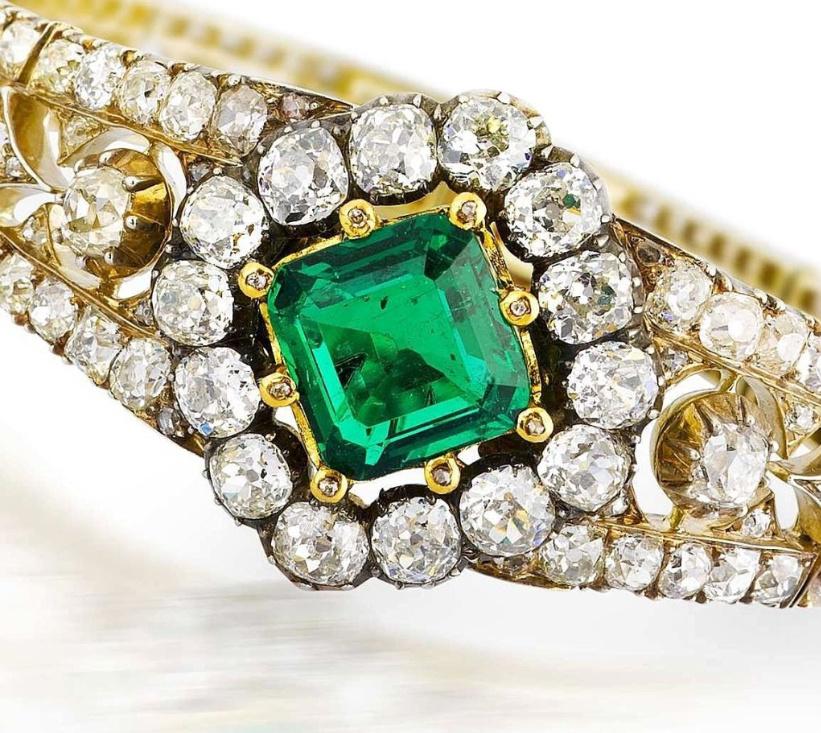 emerald-diamond-bracelet