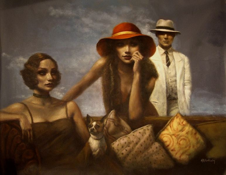 contemporary artists,Figurative painting, Hamish Blakely (10)
