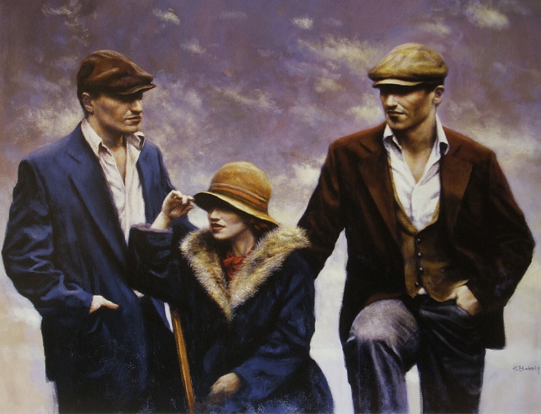 contemporary artists,Figurative painting, Hamish Blakely (16)