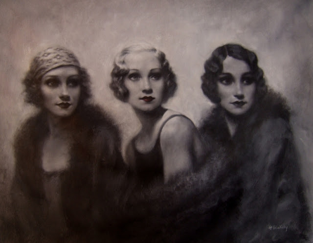 contemporary artists,Figurative painting, Hamish Blakely