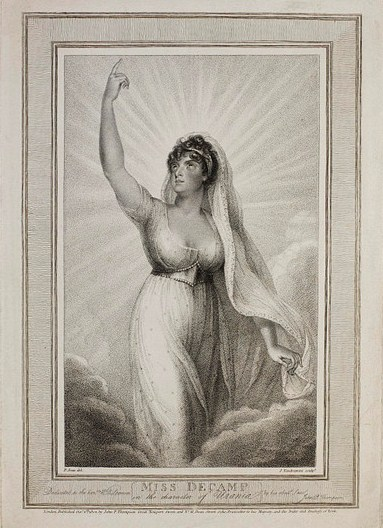 миссис Чарльз Кембл (Мария Тереза де Камп), как Урания