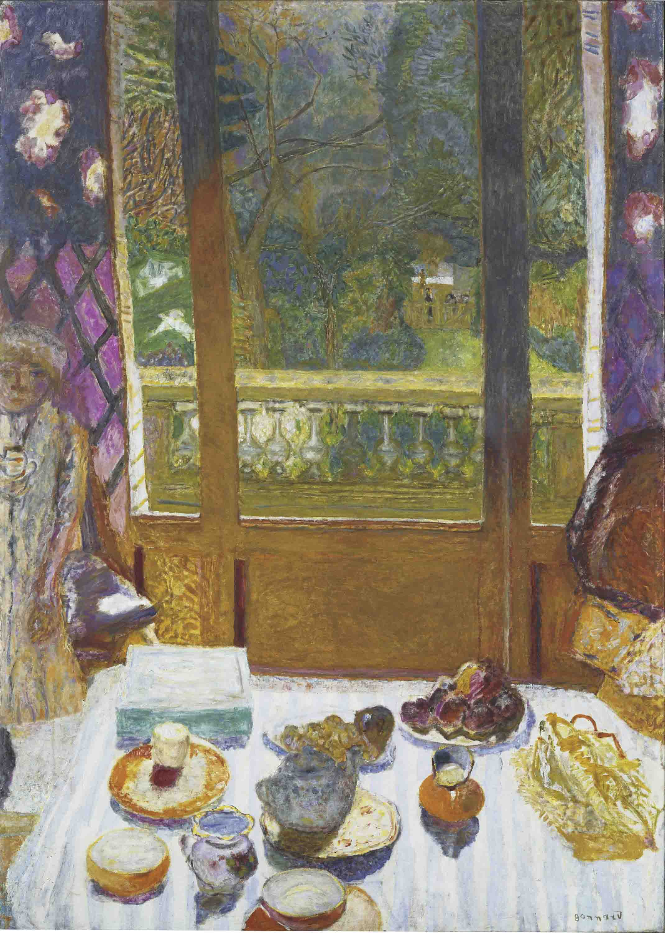 Pierre-Bonnard-The-Dining-Room-Garden