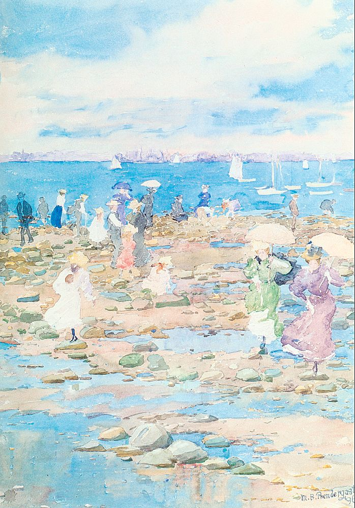 Prendergast_Maurice_Summer_Visitors_1897