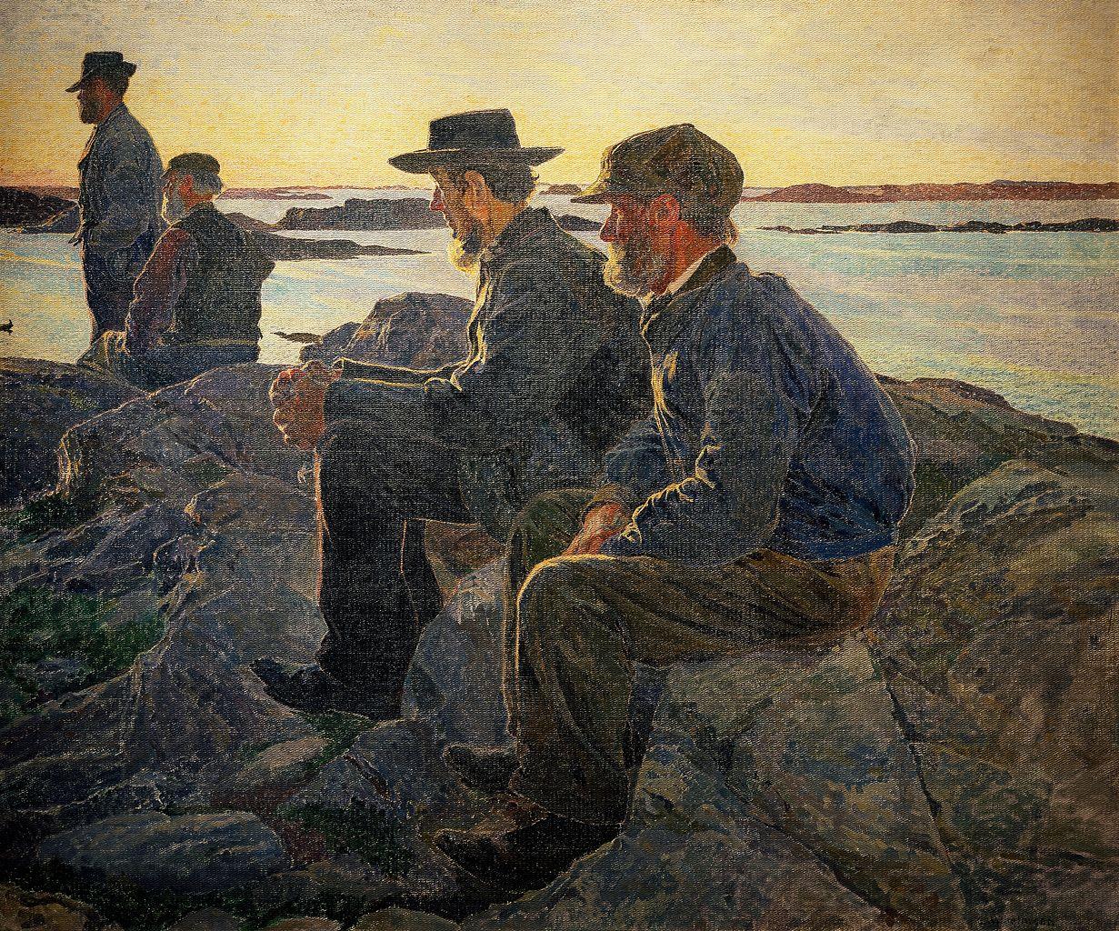 1231px-Carl_Wilhelm_Wilhelmson_-_On_Rocks_at_Fiskebackskil