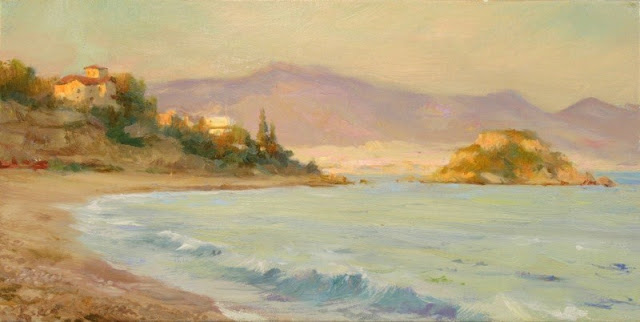 Landscape painting,contemporary Russian artist,oil painting (14)