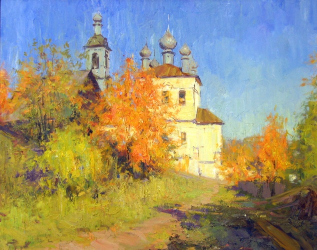 Landscape painting,contemporary Russian artist,oil painting (17)