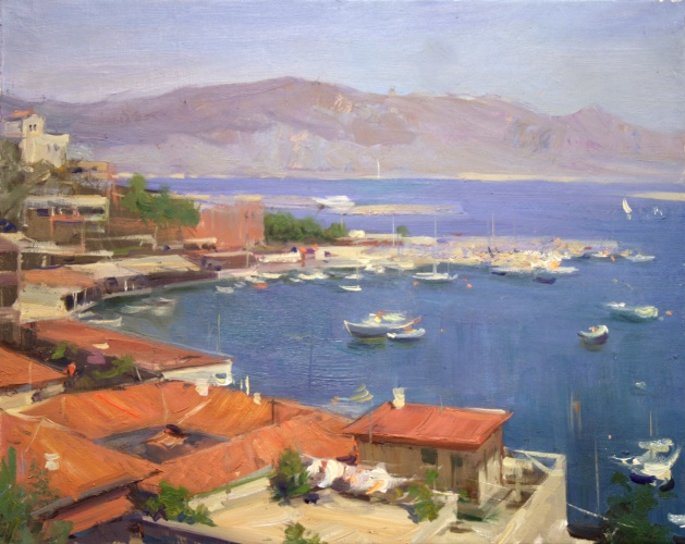 Landscape painting,contemporary Russian artist,oil painting (20)
