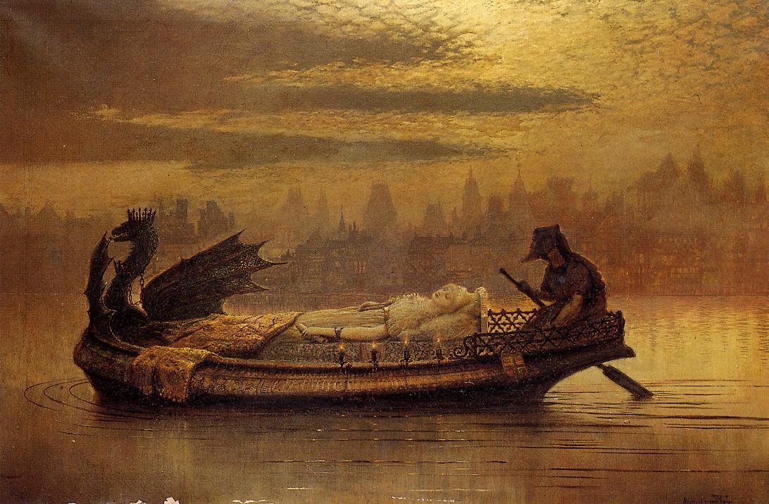 Grimshaw - Elaine - 1877
