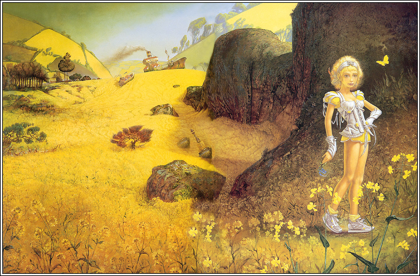 91_Patrick_Woodroffe_TheGirlinYellow