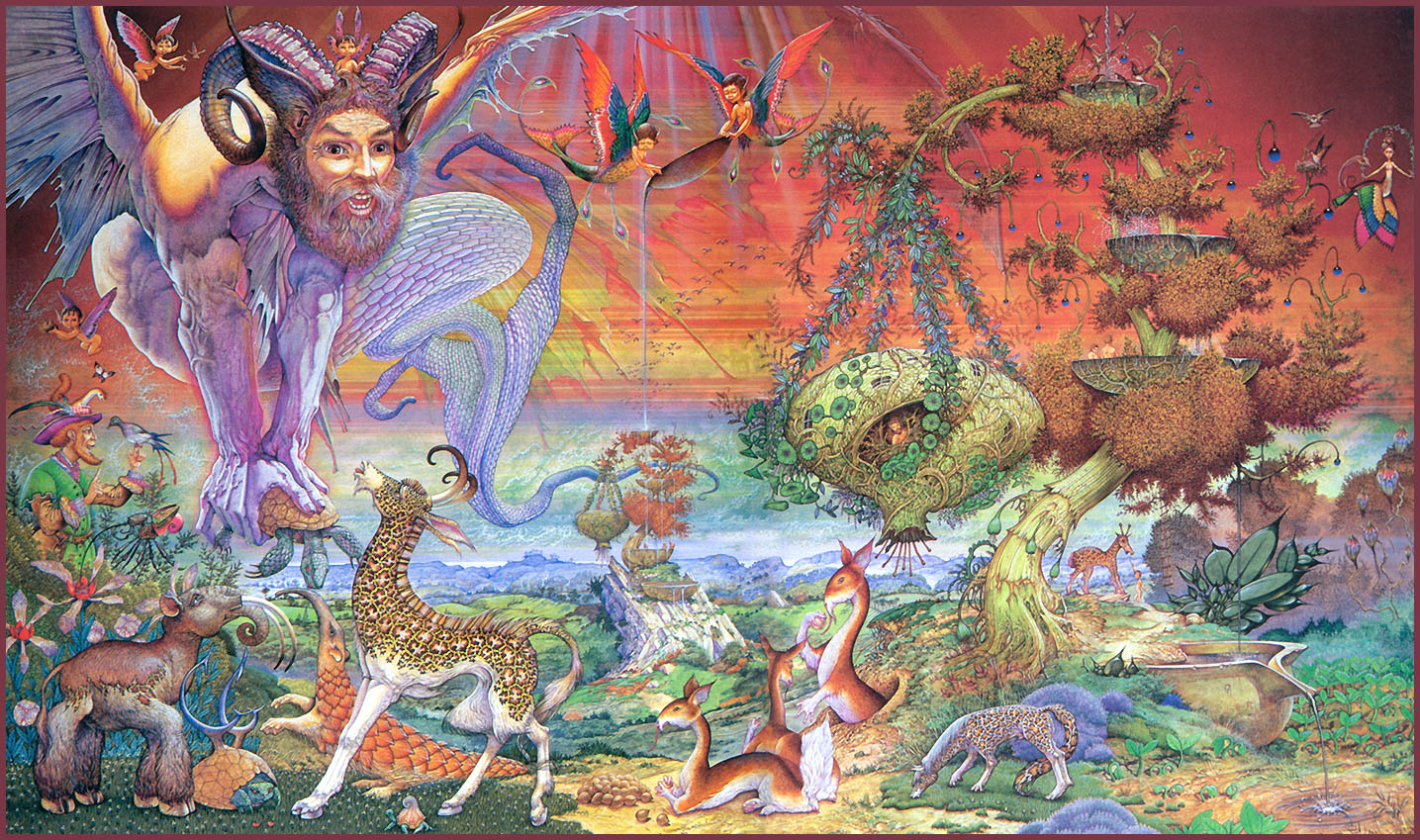 32_Patrick_Woodroffe_PeacetheHappySavage