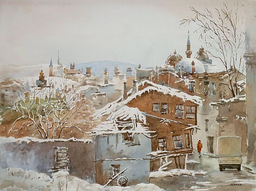 Beyaz ipek gibi yağdı kar - White, like silk, the snow fell 171011
