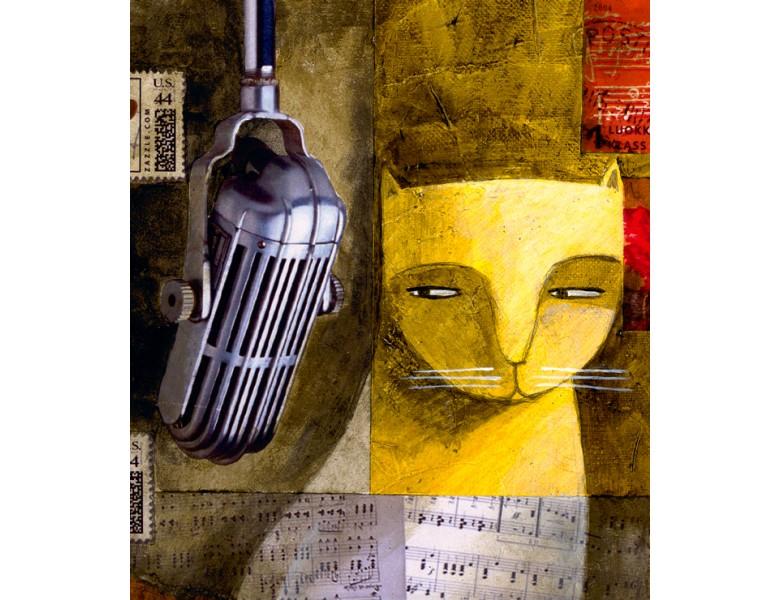 la_nez_carlos_la-gata-cantante_cat_katze_grafik_graphic_2