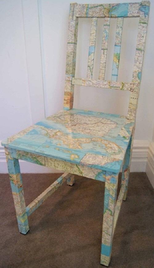 map chair