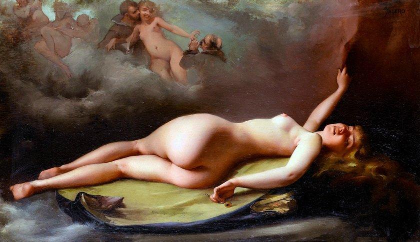 Ангелы и ведьмы...Художник Луис Рикардо Фалеро. ad90b2ff1977