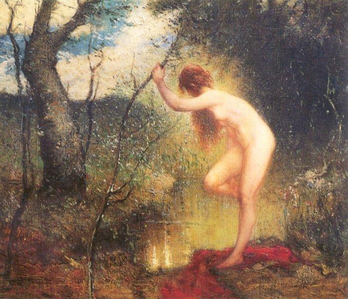 Daingerfield-elliot-the-forest-pool-1915