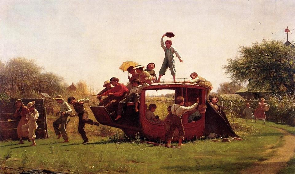 Eastman Johnson 1824-1906 - American Genre painter - Tutt'Art@  (17)
