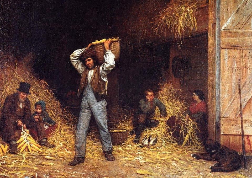 Eastman Johnson 1824-1906 - American Genre painter - Tutt'Art@  (24)