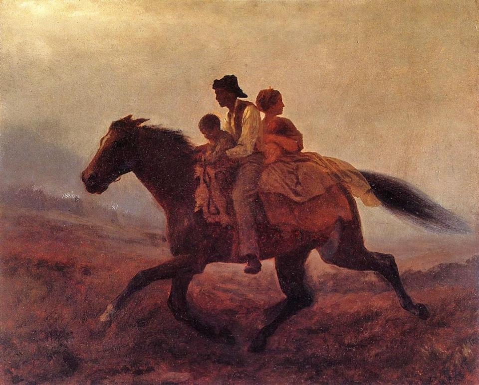 Eastman Johnson 1824-1906 - American Genre painter - Tutt'Art@  (21)