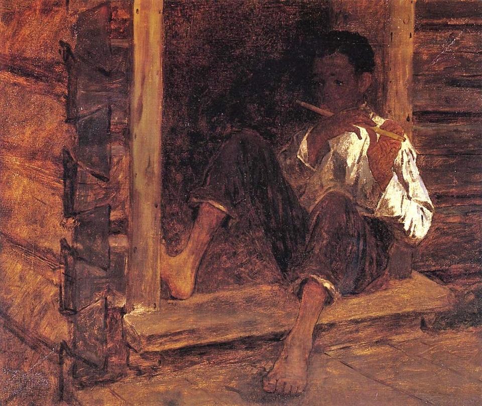 Eastman Johnson 1824-1906 - American Genre painter - Tutt'Art@  (26)
