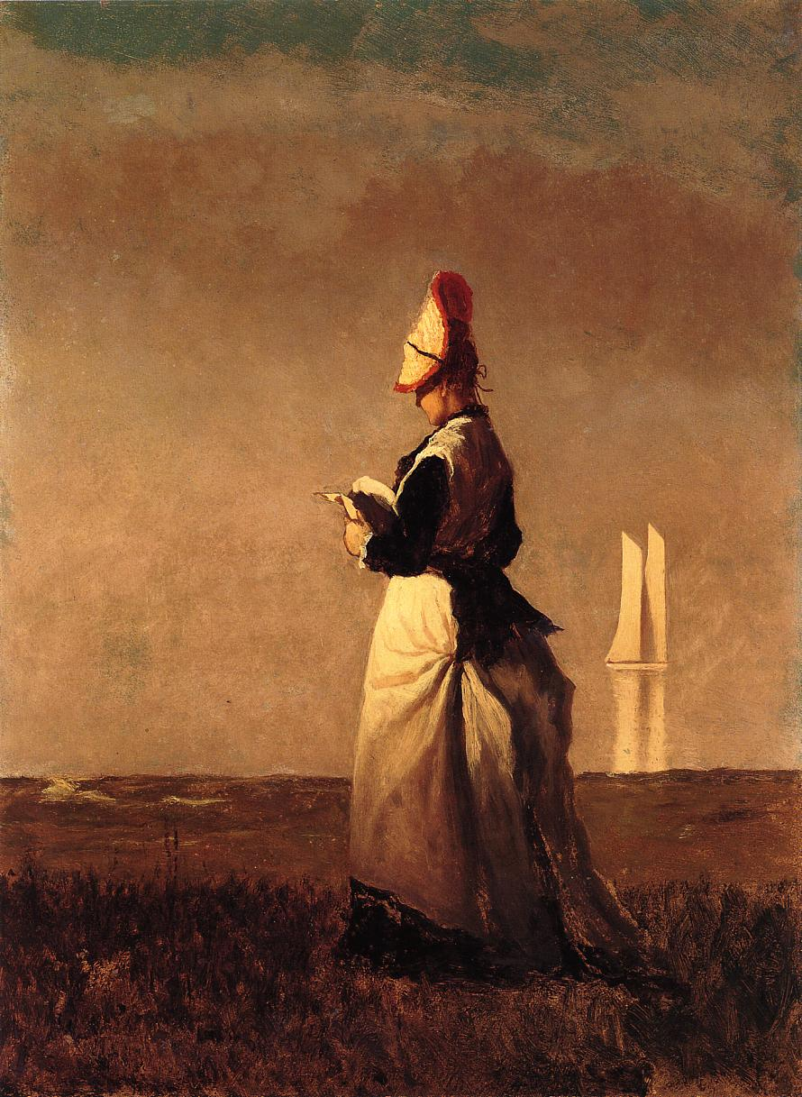 Eastman Johnson 1824-1906 - American Genre painter - Tutt'Art@  (6)