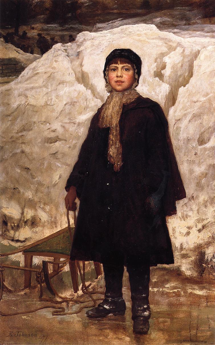 Eastman Johnson 1824-1906 - American Genre painter - Tutt'Art@  (7)