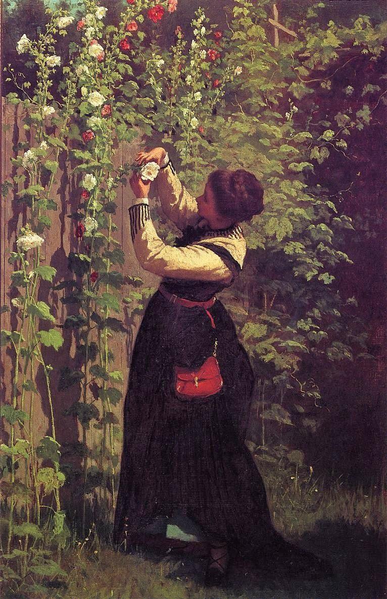 Eastman Johnson 1824-1906 - American Genre painter - Tutt'Art@  (12)
