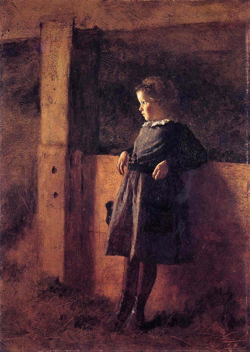 Eastman Johnson 1824-1906 - American Genre painter - Tutt'Art@  (13)