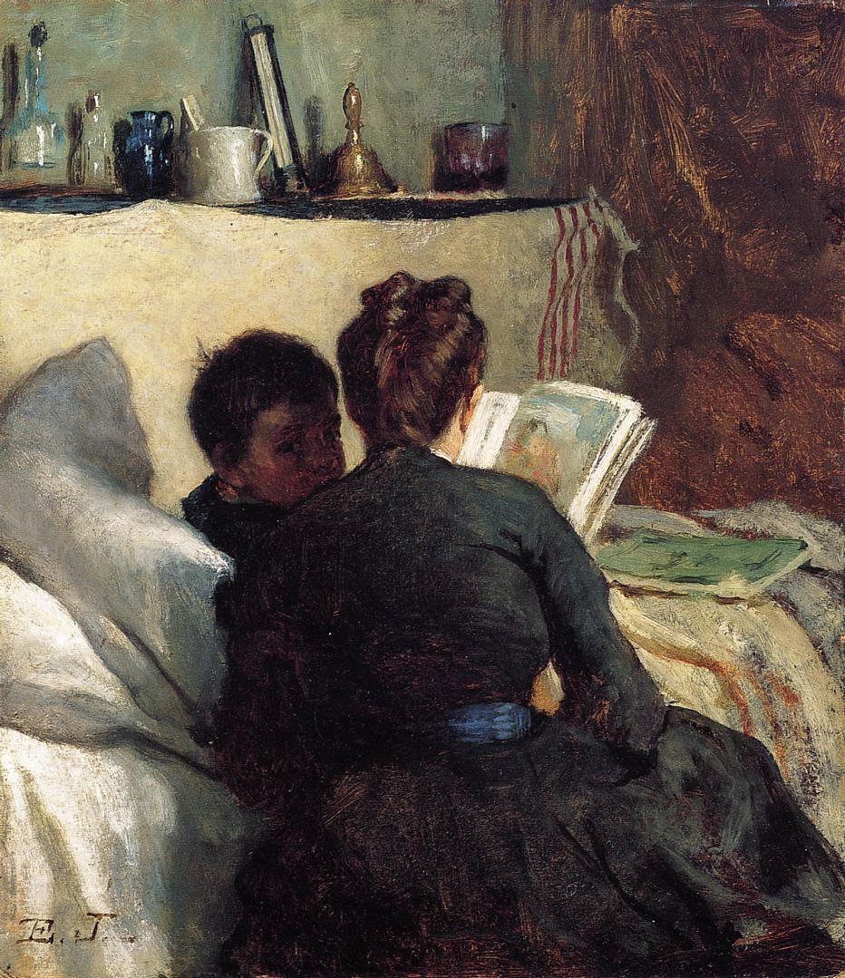 Eastman Johnson 1824-1906 - American Genre painter - Tutt'Art@  (15)