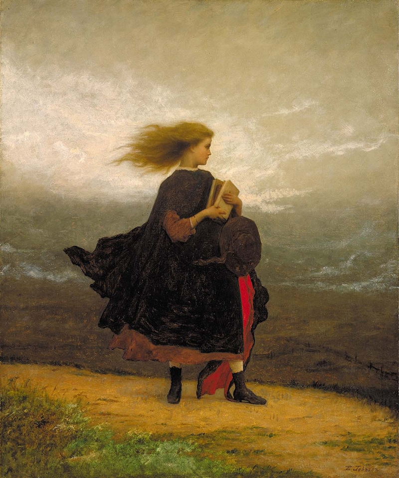 Eastman Johnson 1824-1906 - American Genre painter - Tutt'Art@  (18)