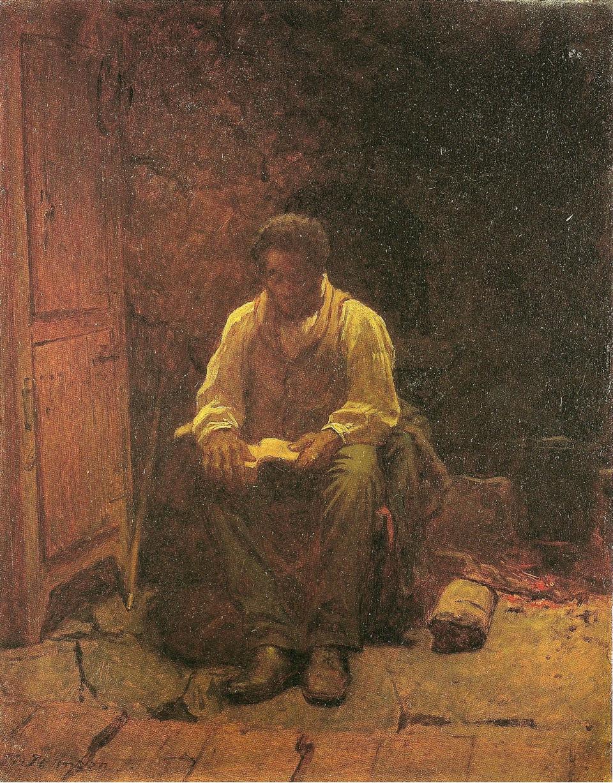 Eastman Johnson 1824-1906 - American Genre painter - Tutt'Art@  (29)