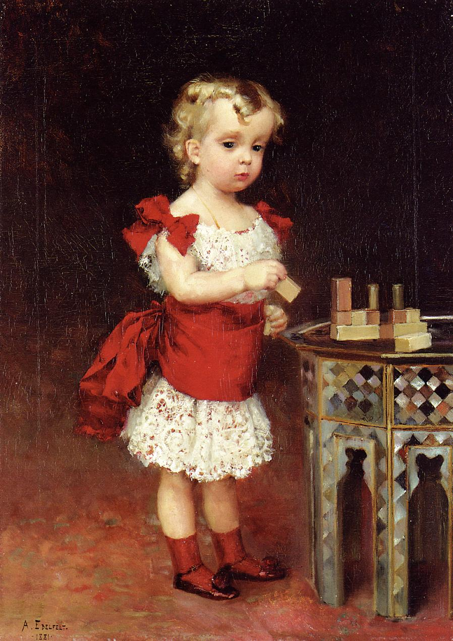 Albert-Edelfelt-xx-Portrait-of-Grand-Duke-Andrei-Vladimirovich-as-a-Child-xx-Private-Collection