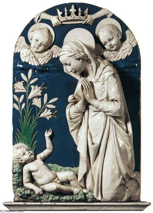 Andrea-Della-Robbia-Adoration-of-the-Child